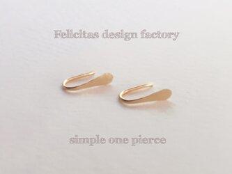 14kgf :simple one pierceの画像