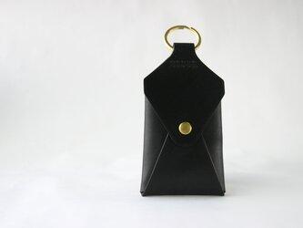 カードの入るキーホルダー ブラックの画像