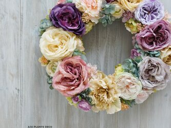 Wreath ~Rose Rose Rose~  40cmの画像