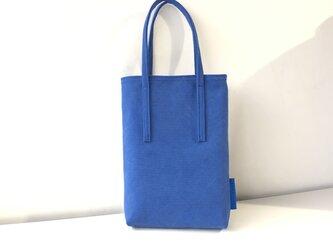 miniバッグ/ブルー×グレーの画像