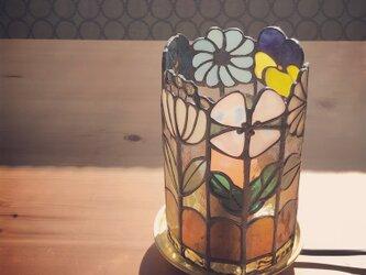 6本のお花ランプの画像