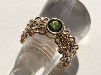 『 Weave ( heart&nature ) 』Ring by K14GFの画像