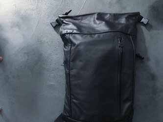 ROLL DAY PACK WATER PROOF GOAT LEATHERの画像