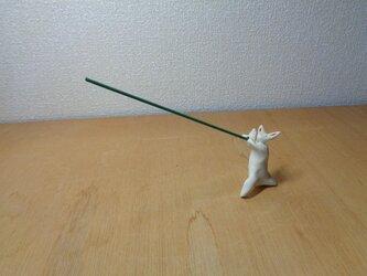 香立てウサギ(スペシウム光線)の画像