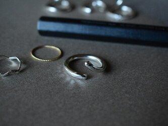 スプリットリング5 ポコポコ 極太 sv925の画像