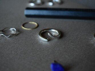 スプリットリング5 uroko 極太 sv925の画像