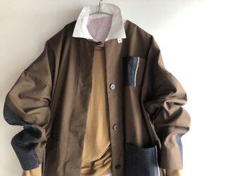 honakana ノーカラーSpring・Autumnコート の画像