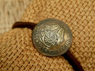 #H172  South Africa Coin Hair Elasticの画像