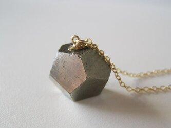 パイライトの原石ネックレス/黄鉄鉱 /Spain 14kgfの画像