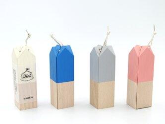 【木製 鍋敷き】なべしきハウス - TENT -の画像