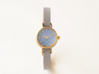 iroha 瑠璃 真鍮シンプルケース(受注生産)| ハンドメイド腕時計の画像