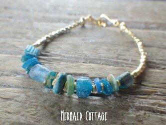 地中海ブレス Roman Glass Seaside Braceletの画像
