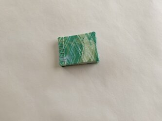 豆メモ帖(波・緑系)の画像
