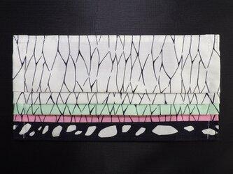 MC-KSK-000 不織布マスク カバー プリーツ タイプ 伝統 和柄 和風 可愛い 蝶文様の画像