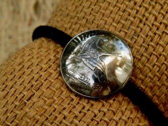 #H37 Korea Coin Hair Elasticの画像