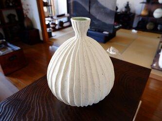 珊瑚砂鎬花器3の画像