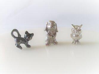 「S様オーダー ミニチュア動物3点」の画像