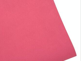本革A4サイズ プリズム型押し      【ピンク】の画像
