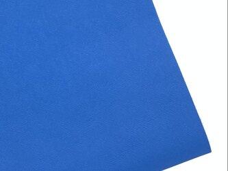 本革A4サイズ プリズム型押し      【ブルー】の画像