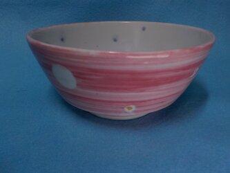 ご飯茶碗 11 桃色の画像