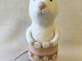 動物シリーズ「ネズミの女の子」の画像