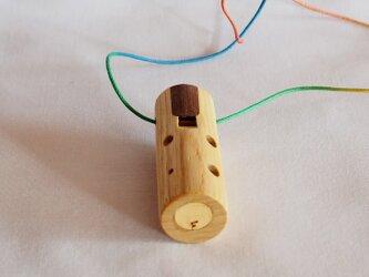 栓(セン)の木のオカリナ ソプラニーノF管 の画像