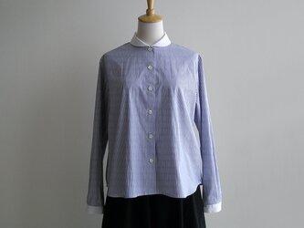 基本のクレリックシャツ(播州織・ピンポイントオックス生地)の画像