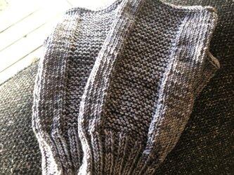 №463 手編みミトンの画像