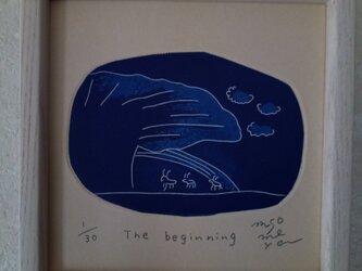 銅版画 『The  beginnig』の画像