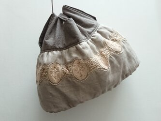 france tulle lace bagの画像