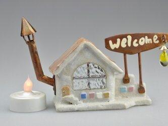 ランプのキャンドルハウス8-(009)の画像