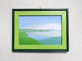 2L判ミニフレーム「Lake」の画像