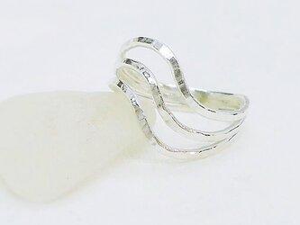 Curvy ring(シルバー)の画像