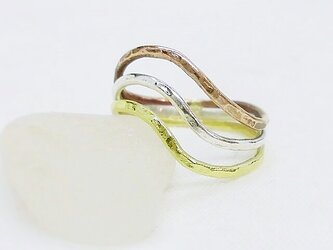 Curvy ring(3色)の画像