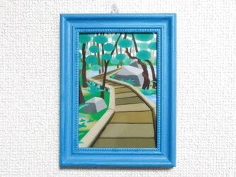L判ミニフレーム「Forest entrance」の画像