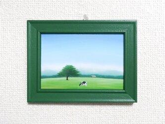 L判ミニフレーム「牧場」の画像