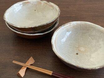 白化粧中鉢 1枚の画像
