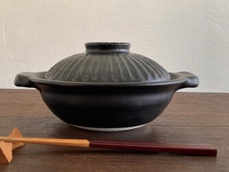 1人用土鍋【直火対応】の画像