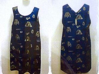 パターン、型紙、(ジャンバスカート)の画像