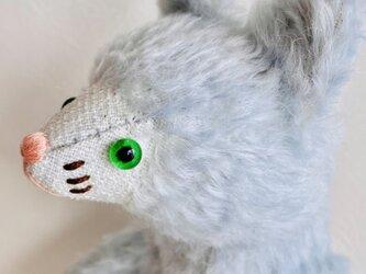 シャトン・ミントソルベ 子猫のぬいぐるみ 猫 ネコ ねこ プレゼント ギフト 贈り物の画像