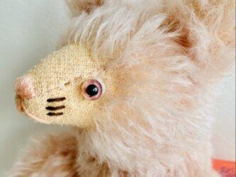 シャトン・コットンピーチ 子猫のぬいぐるみ プレゼント ギフト ねこ こねこ ピンクの画像