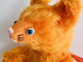 シャトン・オランジェ 子猫のぬいぐるみ プレゼント ギフト ねこ こねこ オレンジの画像