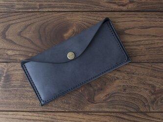 BRIDLE  スリム長財布 / ブラック※受注製作の画像