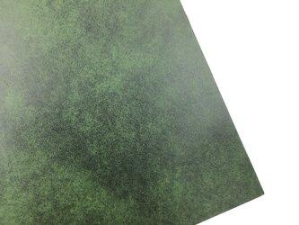 本革A4サイズ アンチックレザー 【グリーン】の画像