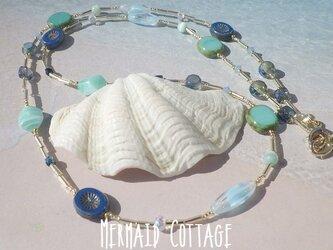 3way! Ocean Shades Blue  グラスコード/眼鏡・マスクホルダーの画像
