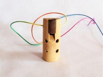 木のオカリナ オリーブ ソプラニーノ管F管の画像