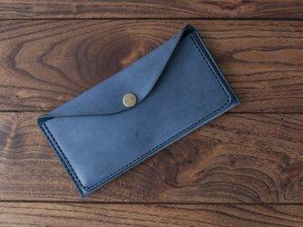 BRIDLE  スリム長財布 / ネイビーの画像