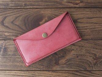 BRIDLE  スリム長財布 / レッドの画像