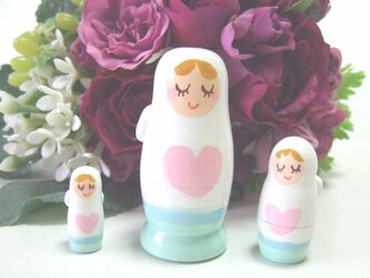 天使・マトリョーシカの画像