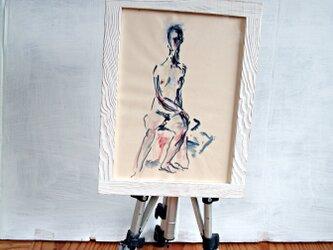 白の裸婦の画像